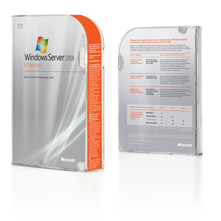 Windows Server 2008 Box