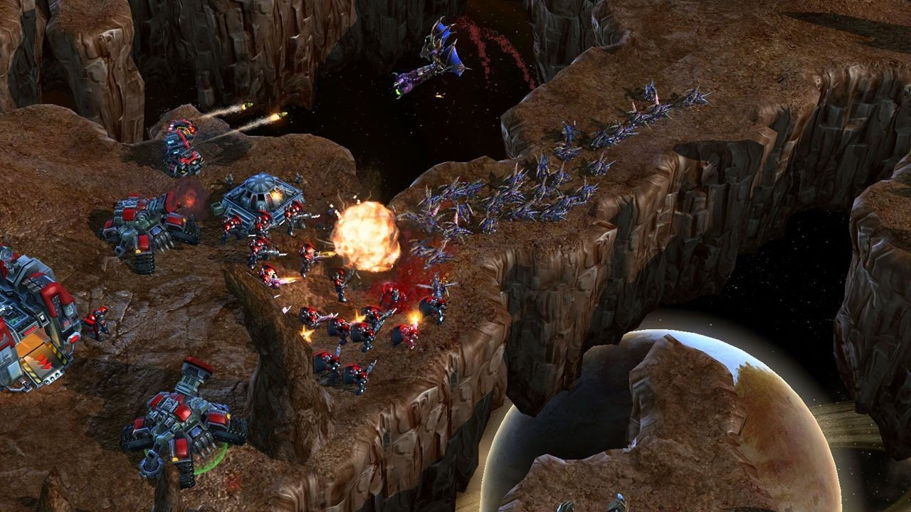 Starcraft 2 InGame-Shots, 19.5.2007