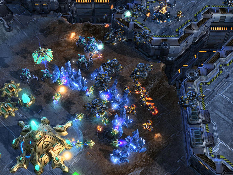 Starcraft 2 InGame-Shots, 6.10.2007