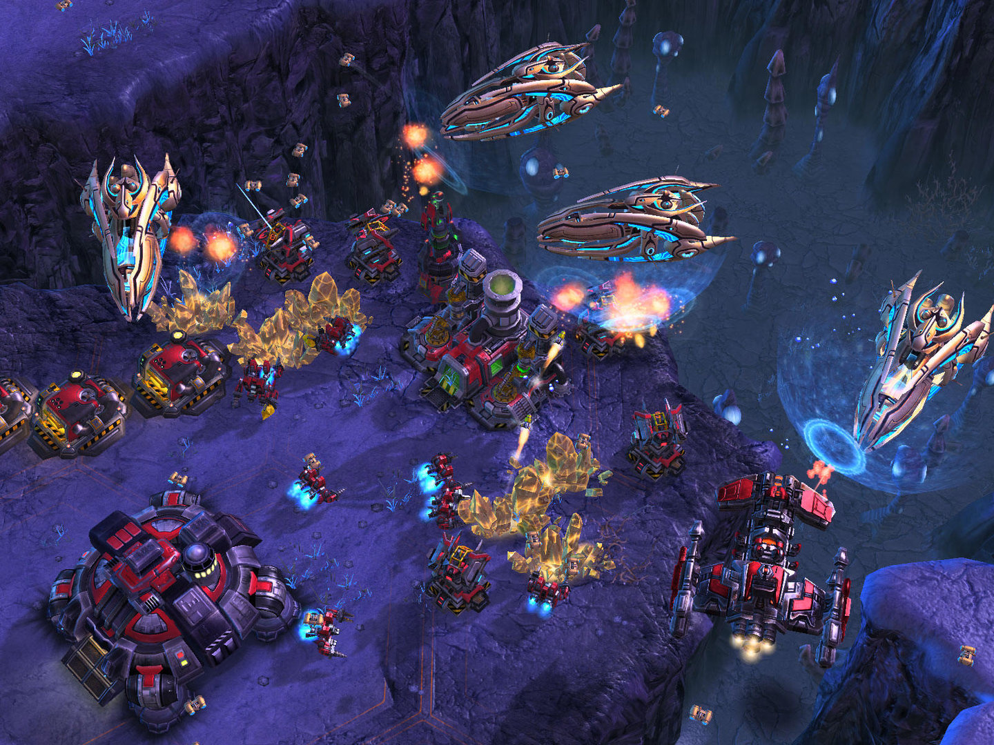 Starcraft 2 InGame-Shots, 6.10.2007