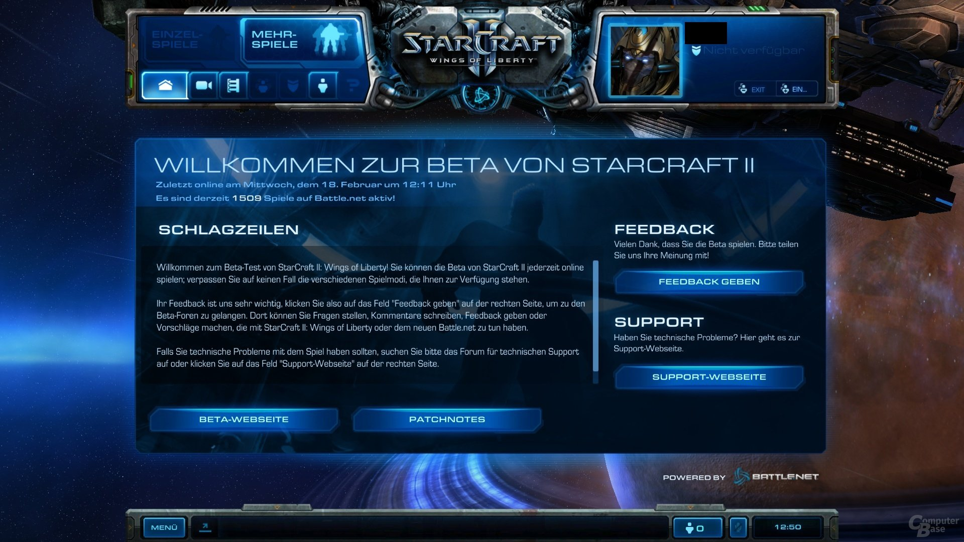 StarCraft 2 Closed Beta