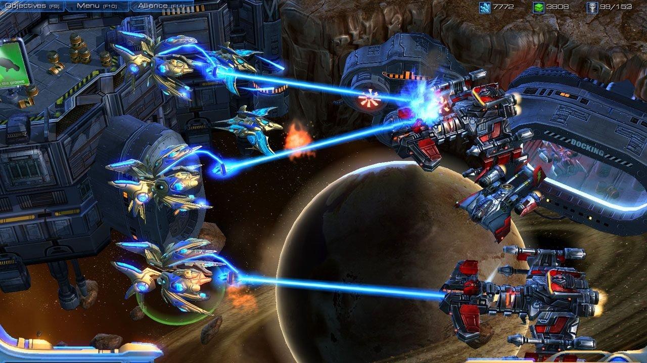 Starcraft 2 InGame-Shots, 19.5.2007