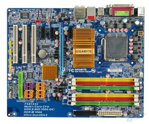 Gigabyte P35C-DS3R – DDR2 und DDR3 auf einem Mainboard