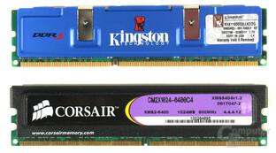 DDR3 vs. DDR2