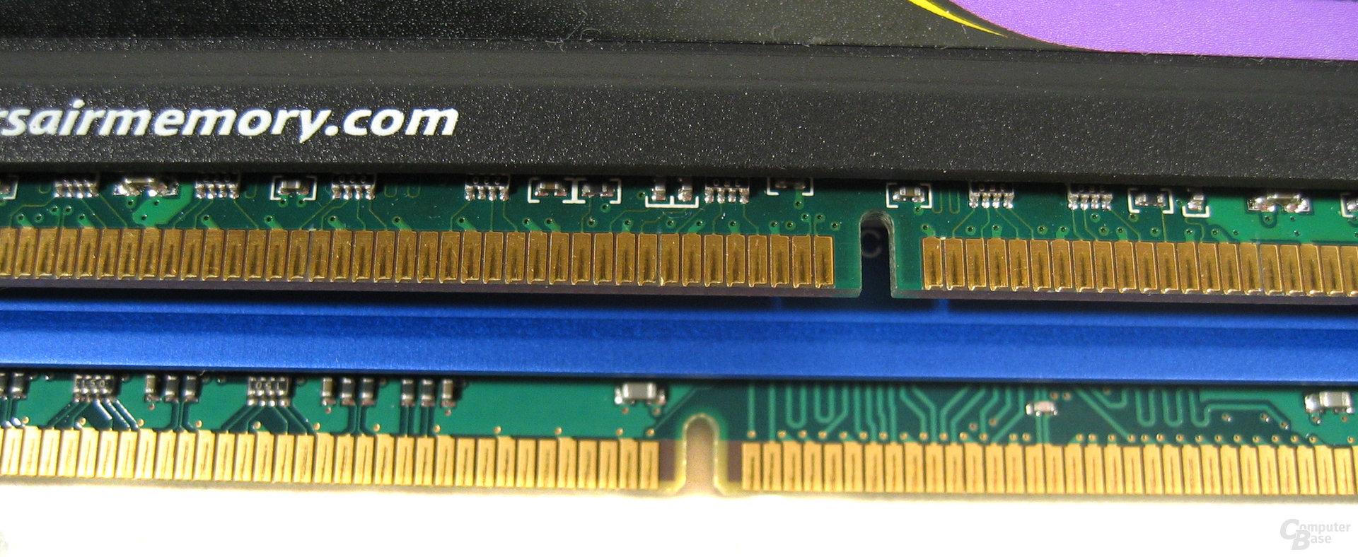 Versetzte Kerbe bei DDR3