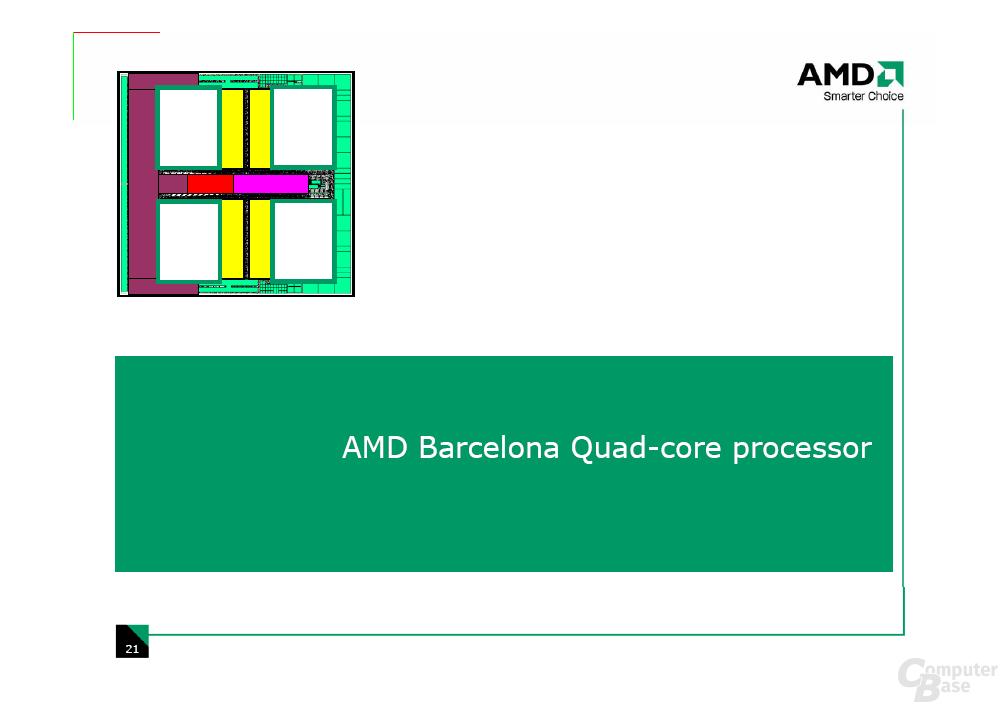 AMD Barcelona, Budapest und Shanghai