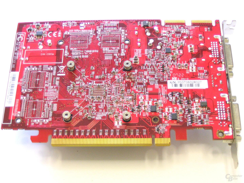 PC Radeon HD 2600 XT Rueckseite