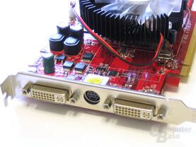 PC Radeon HD 2600 XT Slotblech