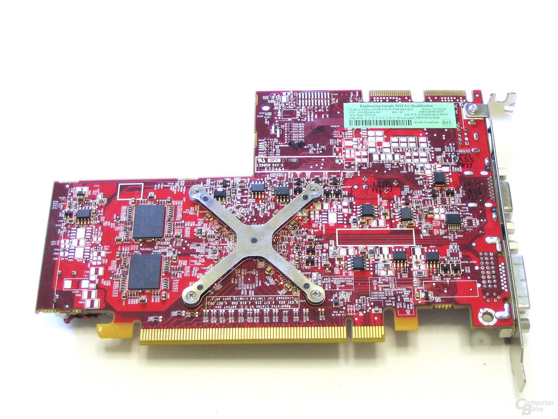 Radeon HD 2400 XT Rueckseite