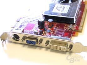 Radeon HD 2400 XT Slotblech