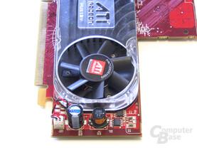 Radeon HD 2400 XT Spannungswandler