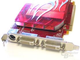 Radeon HD 2600 XT Slotblech