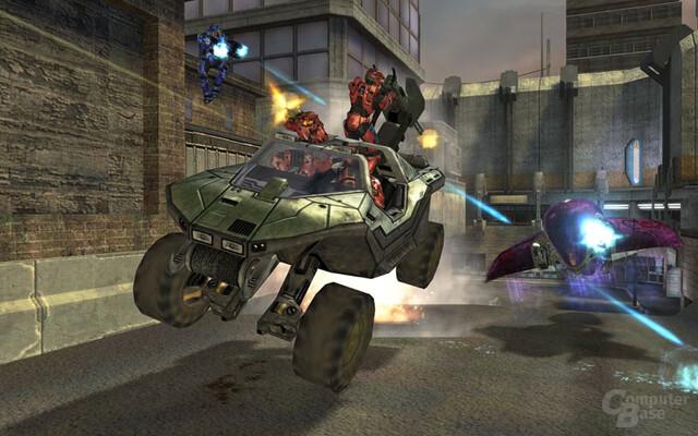 Fahrzeuge in Halo 2