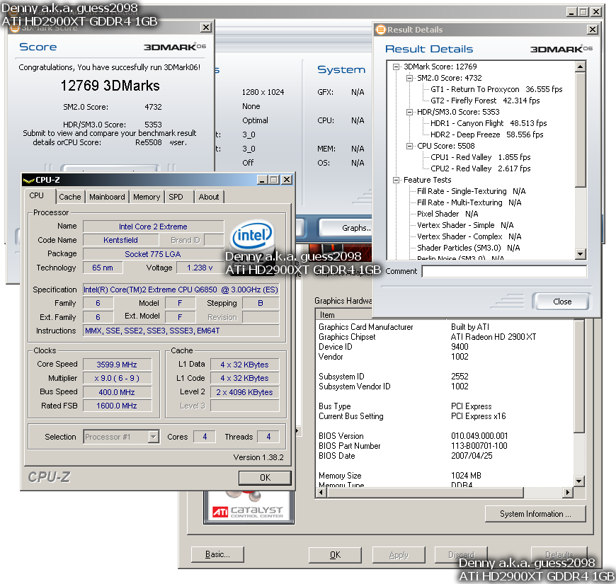 Radeon HD 2900 XT 1024 MB GDDR4