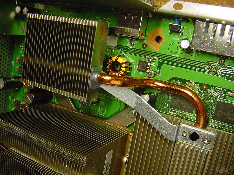 zusätzlicher Kühlkörper der Xbox 360