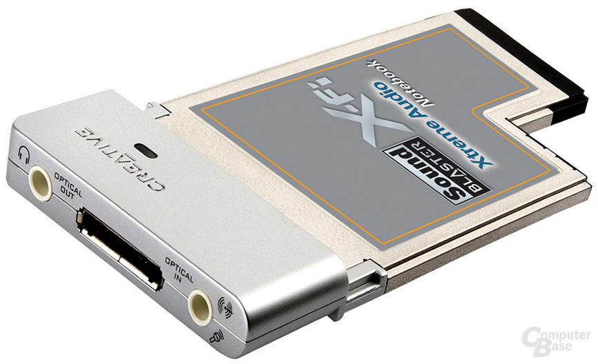 SoundBlaster X-Fi Xtreme Audio Notebook
