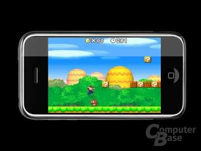 Super Mario auf dem iPhone