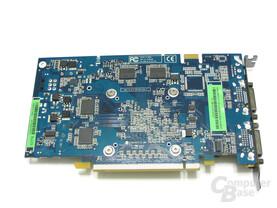 GeForce 8600 GTS 512 Rückseite