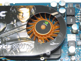 GeForce 8600 GTS AMP! Edition Kühler