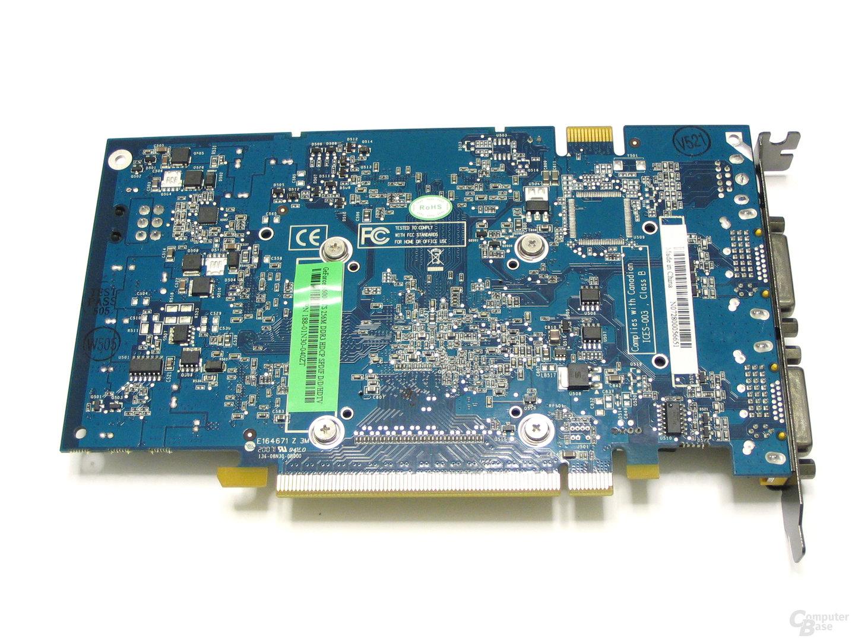 GeForce 8600 GTS AMP! Edition Rückseite