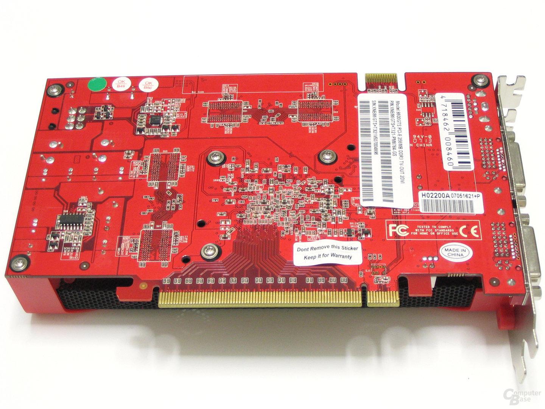 GeForce 8600 GTS GS Rückseite