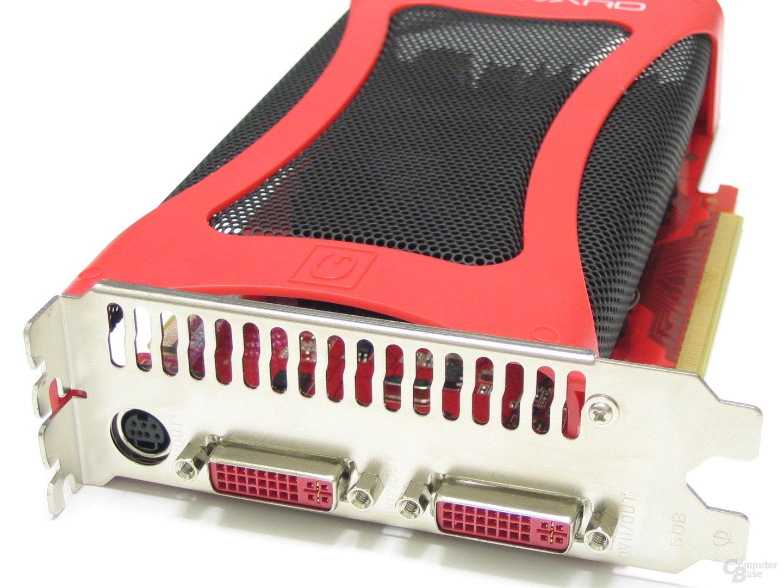 GeForce 8600 GTS GS Slotblech