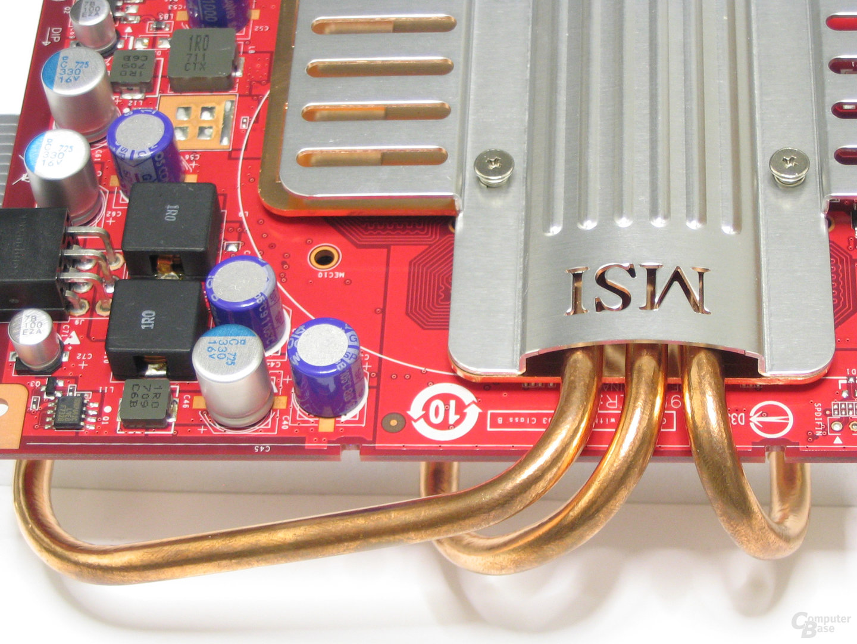GeForce 8600 GTS Heatpipes