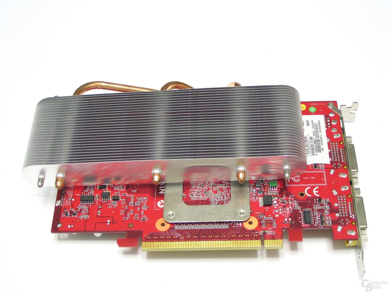GeForce 8600 GTS Rückseite