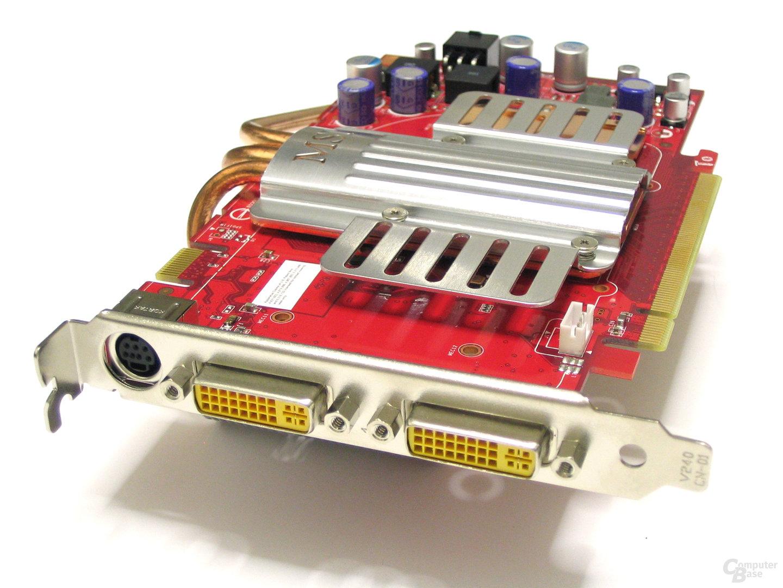 GeForce 8600 GTS Slotblech
