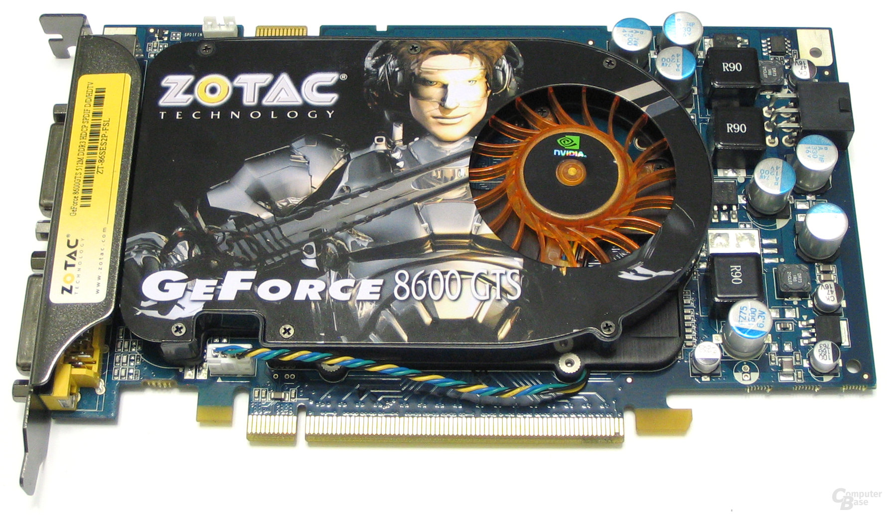 Zotac GeForce 8600 GTS 512