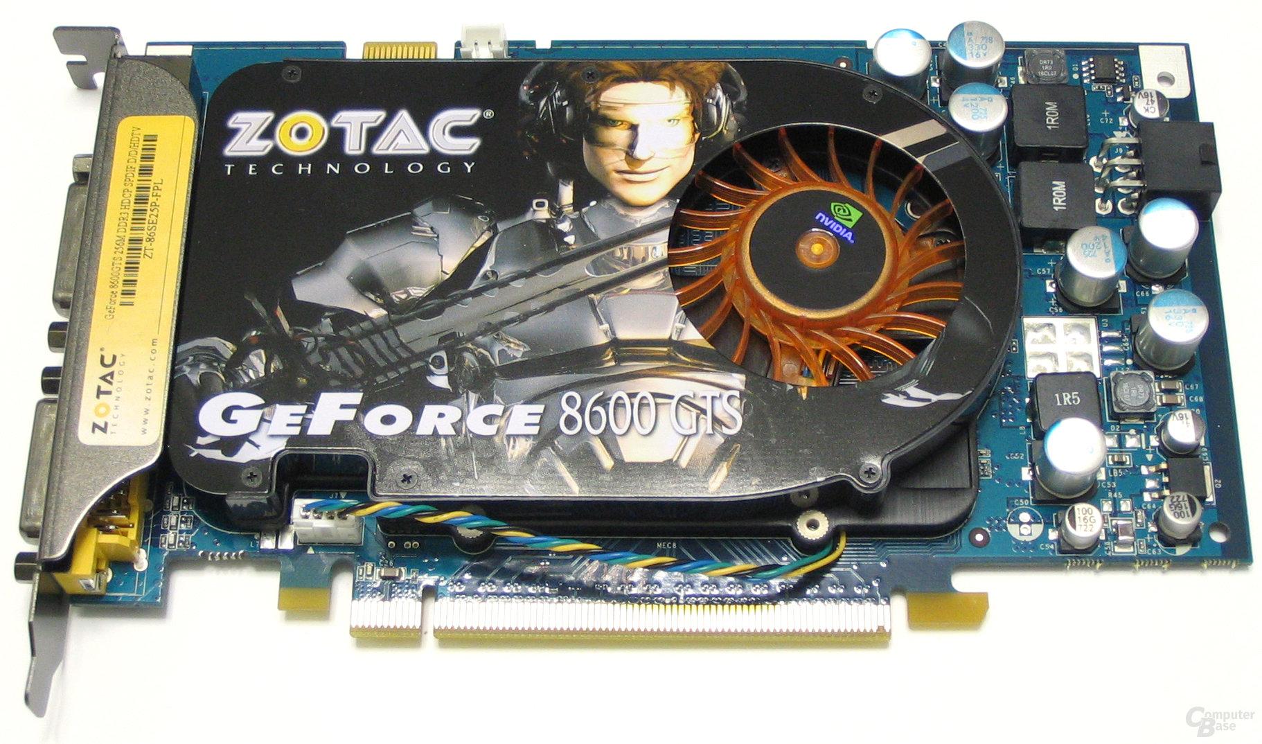 Zotac GeForce 8600 GTS AMP! Edition