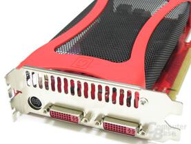 GeForce 8600 GTS 512 Slotblech