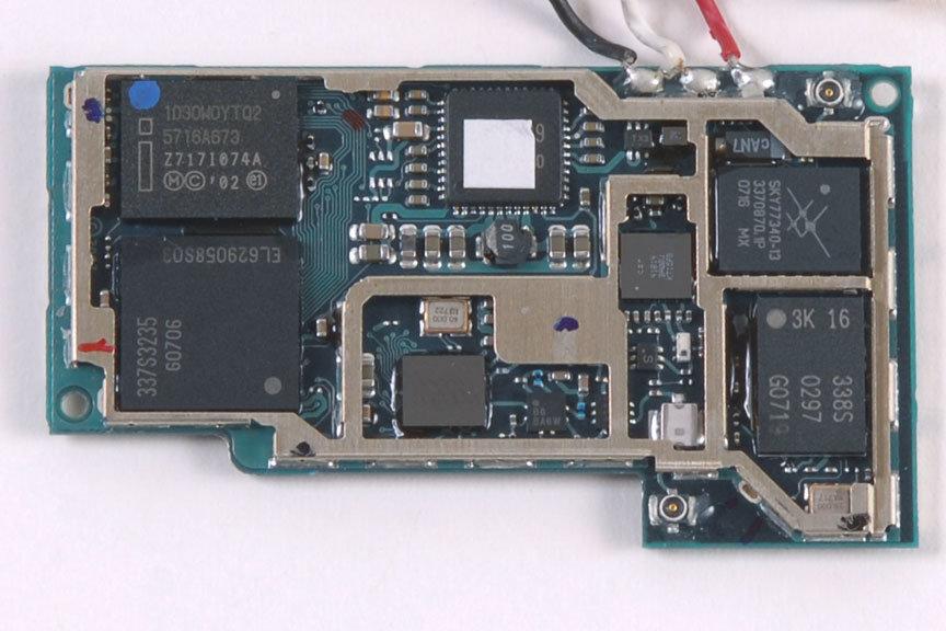 iPhone zerlegt   Quelle: ifixit.com