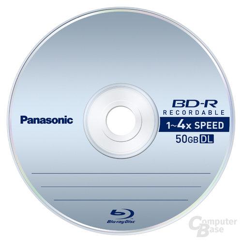Blu-ray-Disk von Panasonic für 4faches Tempo