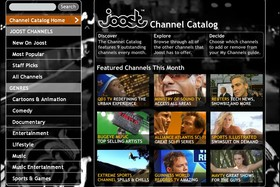 Joost Channel Catalog