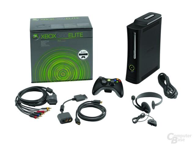 XBox 360 Elite Lieferumfang