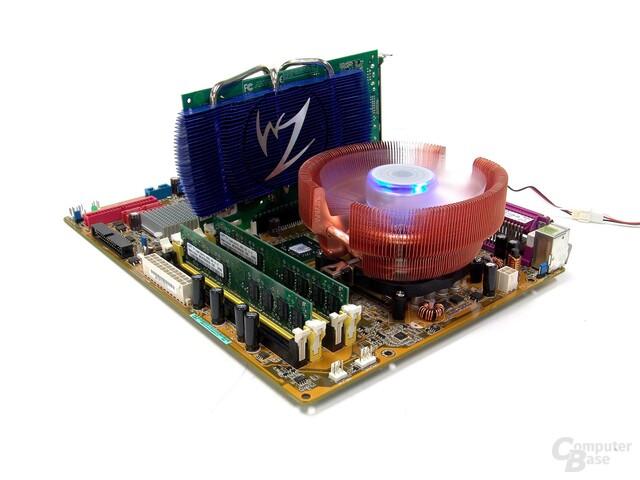 CNPS8700 auf Mainboard mit VNF100