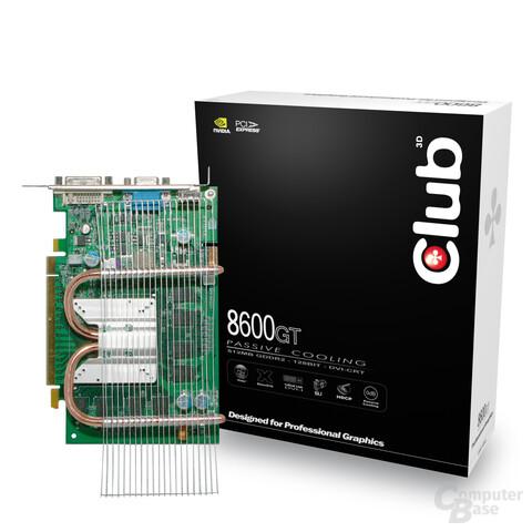 Club 3D 8600GT Passiv