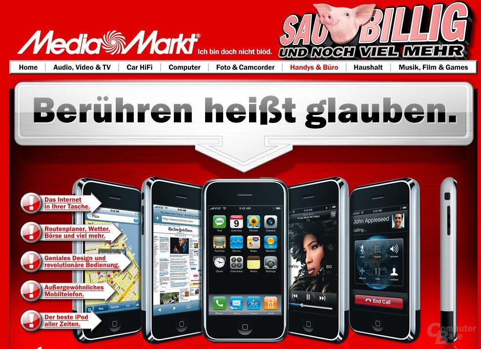 Apple iPhone bei Media Markt