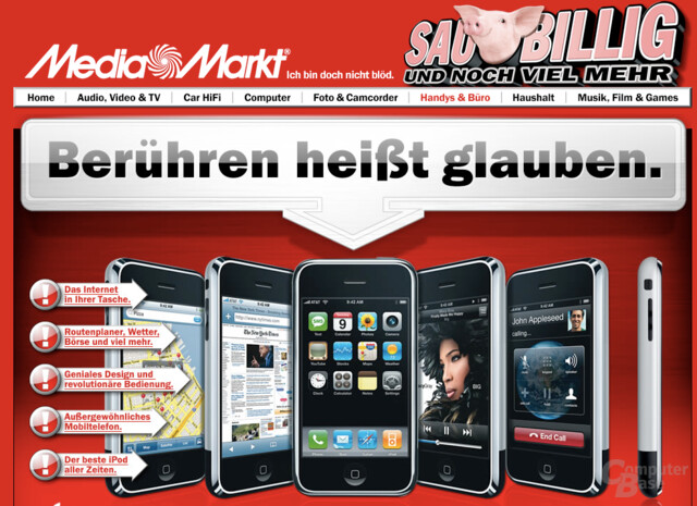 Apple iPhone bei Media Markt