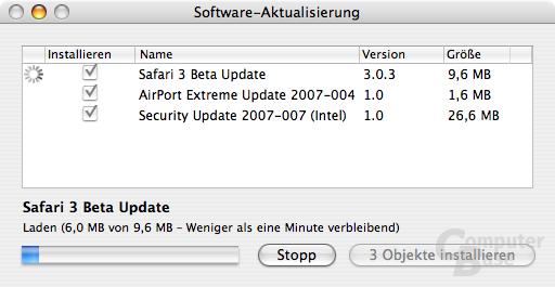 Updates für MacBook Pro