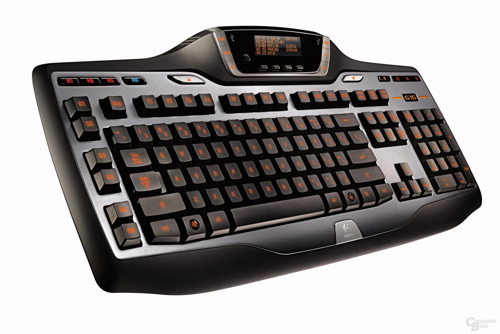 Logitech G15-Tastatur