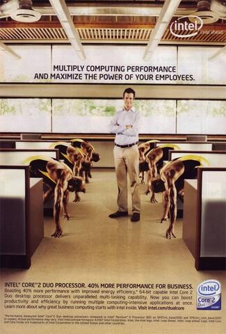 Intel-Anzeige im Dell-Katalog