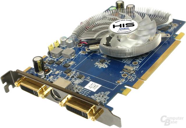 HIS HD2600XT mit Zalman-Kühlung