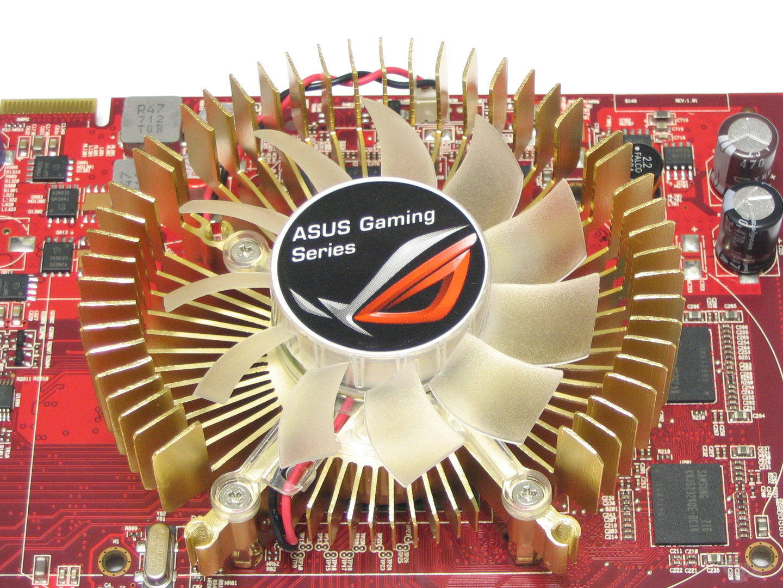 Asus Radeon HD 2600 XT Luefter