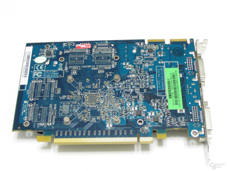 Sapphire Radeon HD 2600 XT Rueckseite