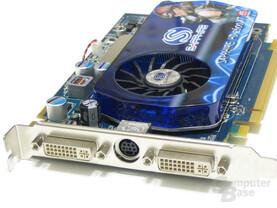 Sapphire Radeon HD 2600 XT Slotblech