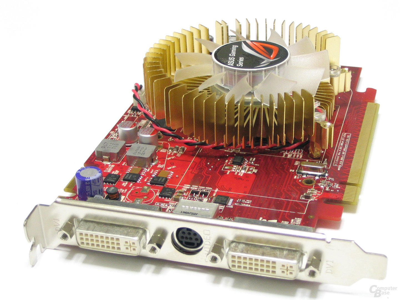Asus Radeon HD 2600 XT Slotblech