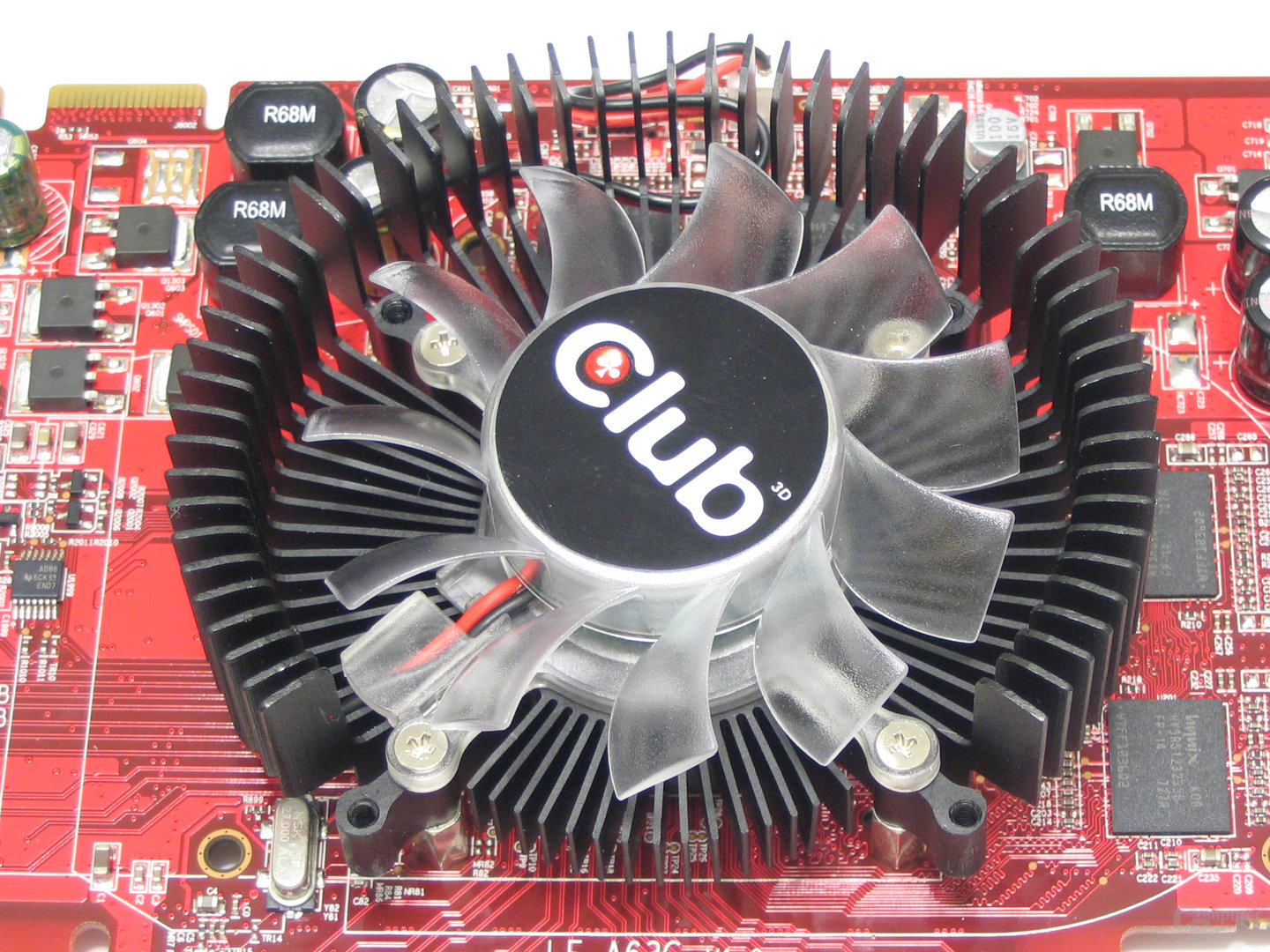 Club3D Radeon HD 2600 XT Luefter