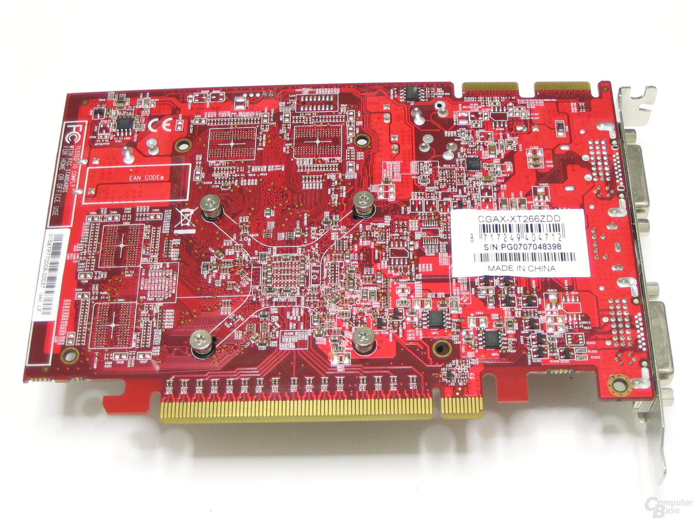 Club3D Radeon HD 2600 XT Rueckseite